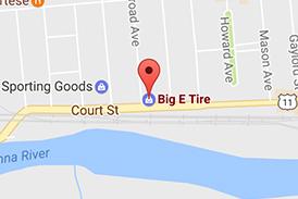 Locations Big E Tire And Auto Service Vestal Front