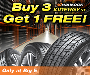 Hankook Buy 3 Get 1 Free Big E Tire And Auto Service Vestal