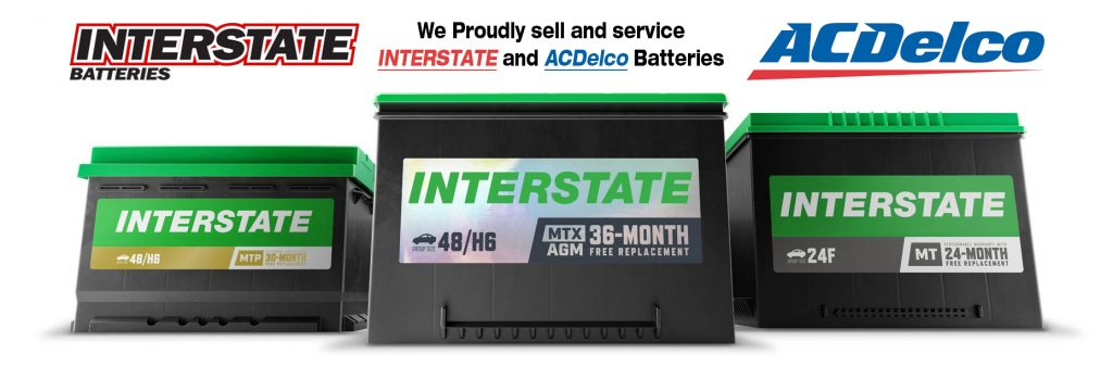 Interstate and ACDelco Battery